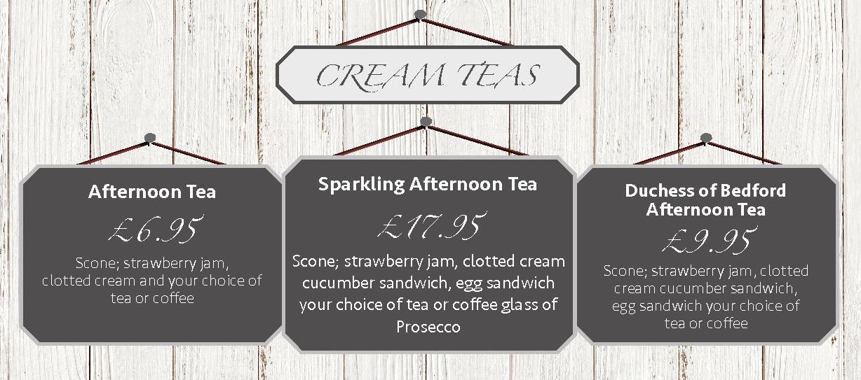 Cream Teas - Clarence Brasserie
