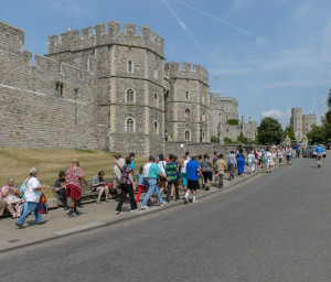 Groups visiting Windsor Castle