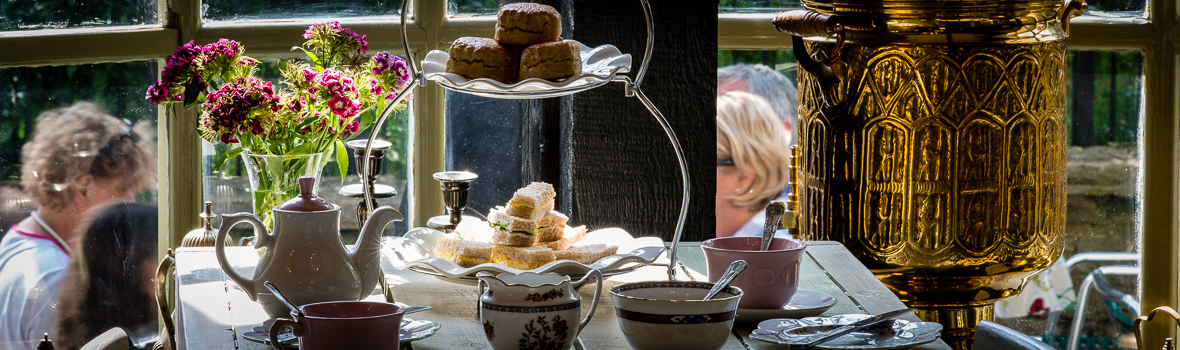 Cream Teas at Clarence Brasserie & Tea Room
