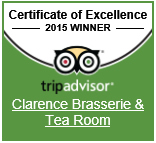 Trip Advisor - Certificate of Excellence 2015